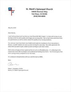 St. Marks Episcopal Church Recommendation