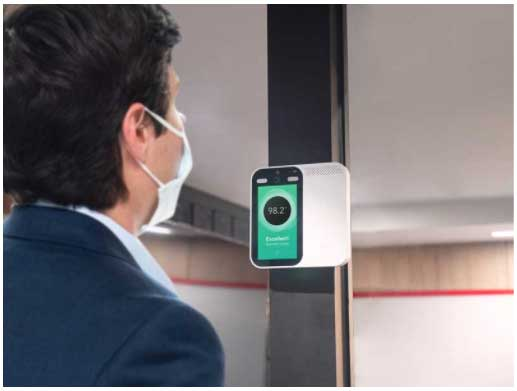 Sharp's LivMote Touchless Temperature Scanners
